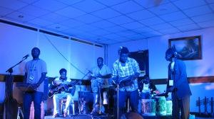 Sound Check in Jinja, Uganda for DOADOA Festival